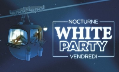 Une White Party pour la nocturne !