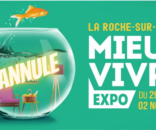 Annulation du salon Mieux Vivre Expo 2020